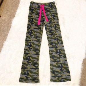 Rue21 camouflage print plush pants size XS